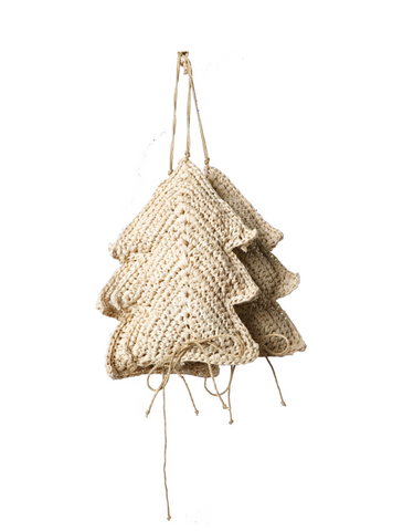 Raffia Tree Ornament