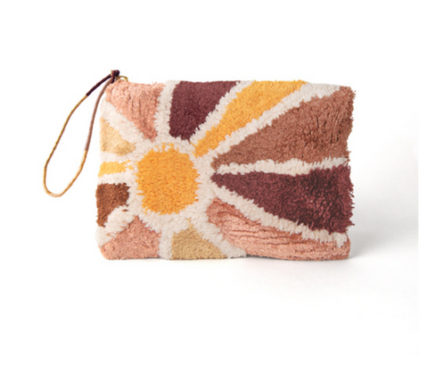Sunburst - Tufted Pouch