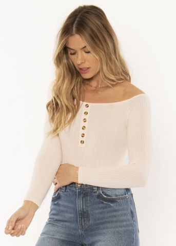 Trevi Knit Bodysuit Shell