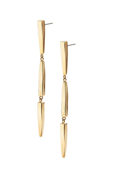 Imara Twist Dangle Earrings