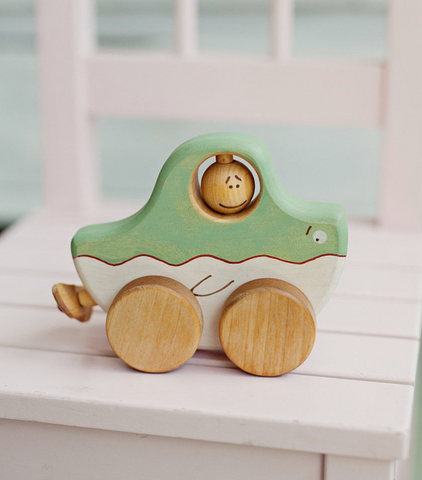 Wooden Boat Toy