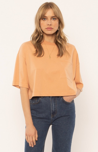 Copy of Easy Life Knit Top Coral Sand