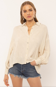 Maya Bay Woven Top Off White