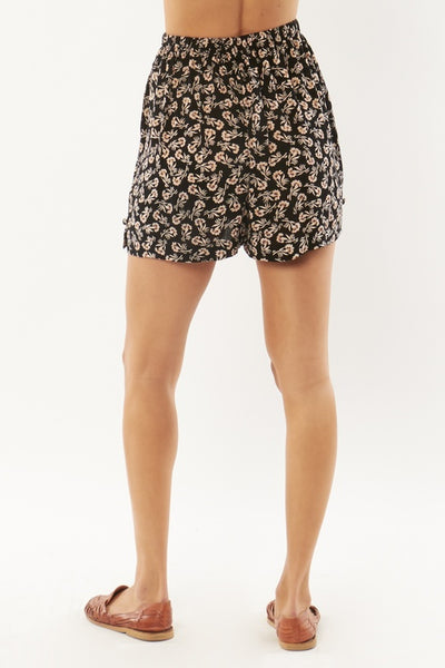 Close to Me Woven Short - Black
