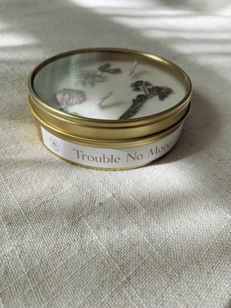 Trouble No More Botanical Candle