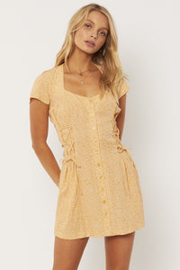 Rayne Woven Mini Dress - Baked Clay