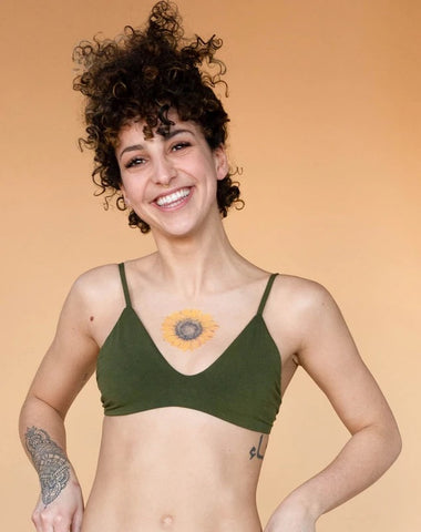 Olive Stella Low Cut Bra