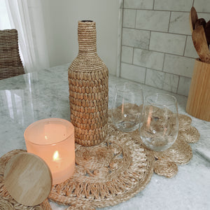Hand Woven Wine Bottle Cover