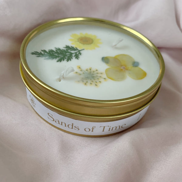 Sands of Time Botanical Candle