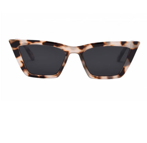 Rosey Sunglasses - Snow Tort