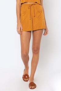 Kenza Knit Short - Amber Light