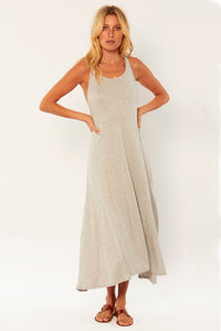 Malia Knit Maxi Dress Grey