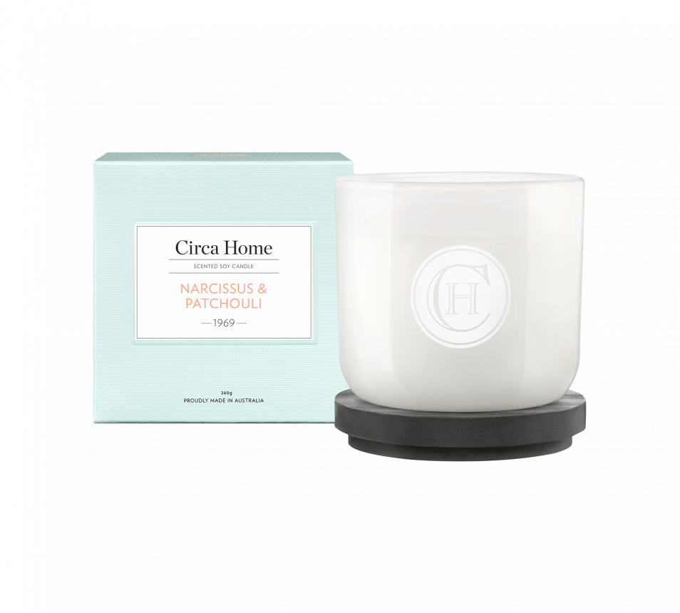 Narcissus & Patchouli Candle
