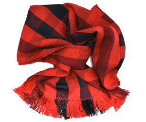 Super soft merino and silk scarf