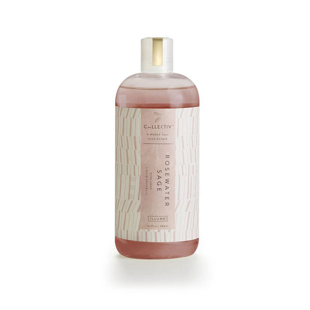 Rosewater Sage Dish Soap