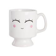 Blushing Emoji Coffee Mug