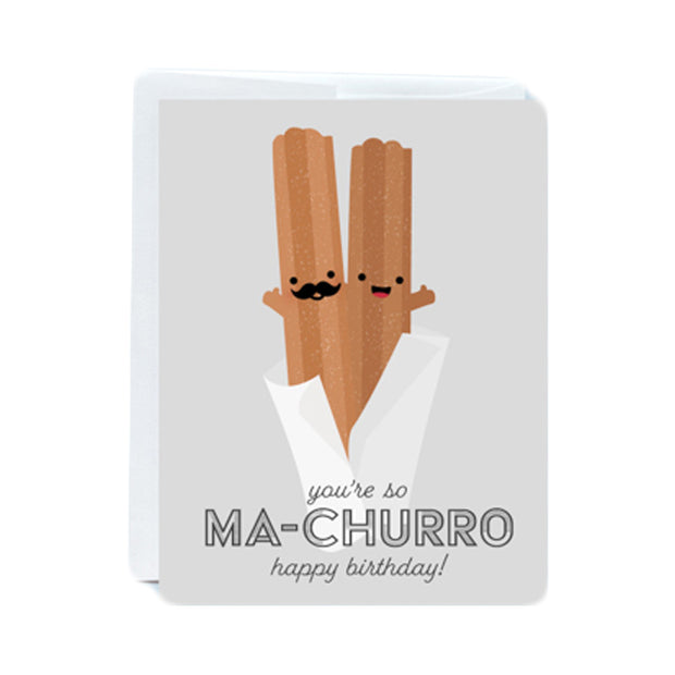 Ma-Churro Birthday Card