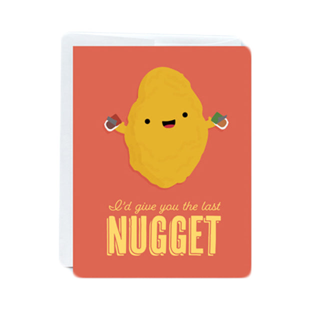 Last Nugget Greeting Card