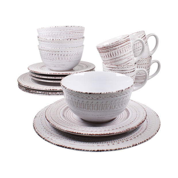 16-Piece Cosenza Dinnerware Set