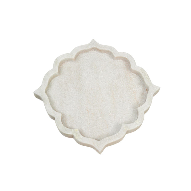 Arabesque Marble Tray