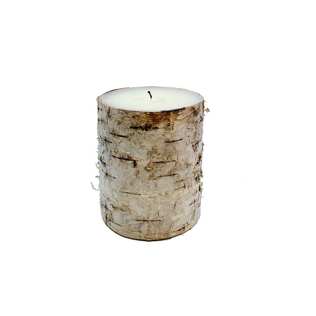 "3"" x 4"" Birch Candle"