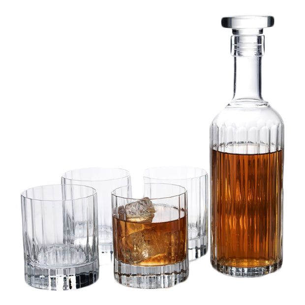 Luigi Bormioli 5-Piece Bach Whiskey Set