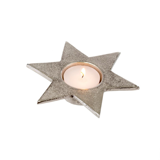 Silver Star Tealight