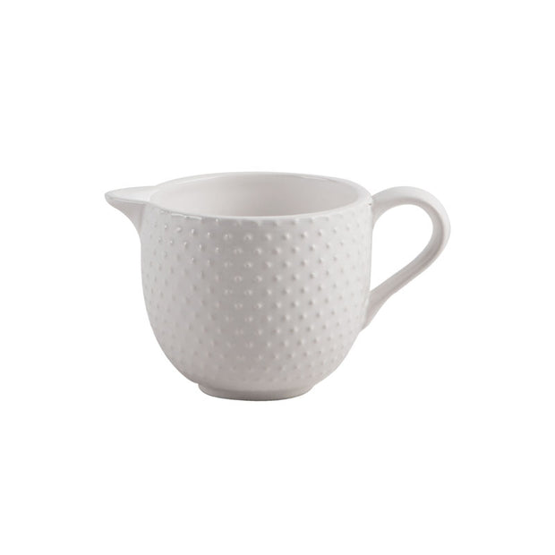 Embossed Dot Creamer