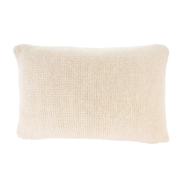 Cotton Knit Natural Pillow