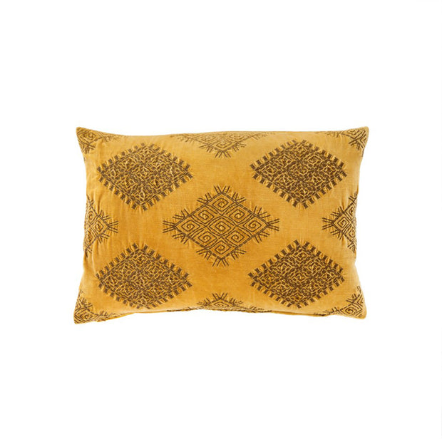 Gold Vivi Velvet Pillow