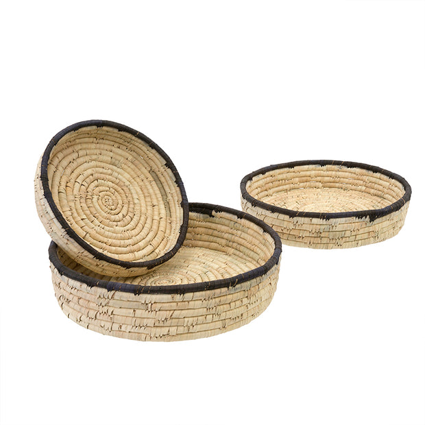 Date Leaf Basket Trays