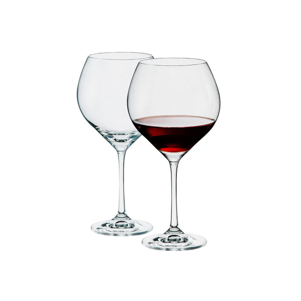 Sophia Red Wine Glasses - Set of 6