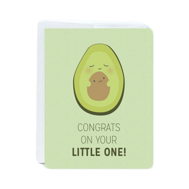 Little Avocado Greeting Card