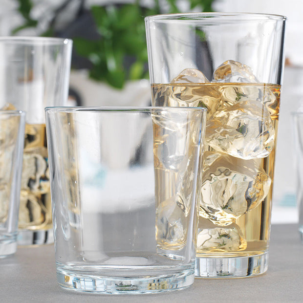 Alanya Drinking Glasses - Set of 16
