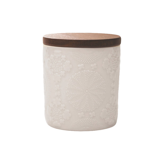 Embossed Medium Canister