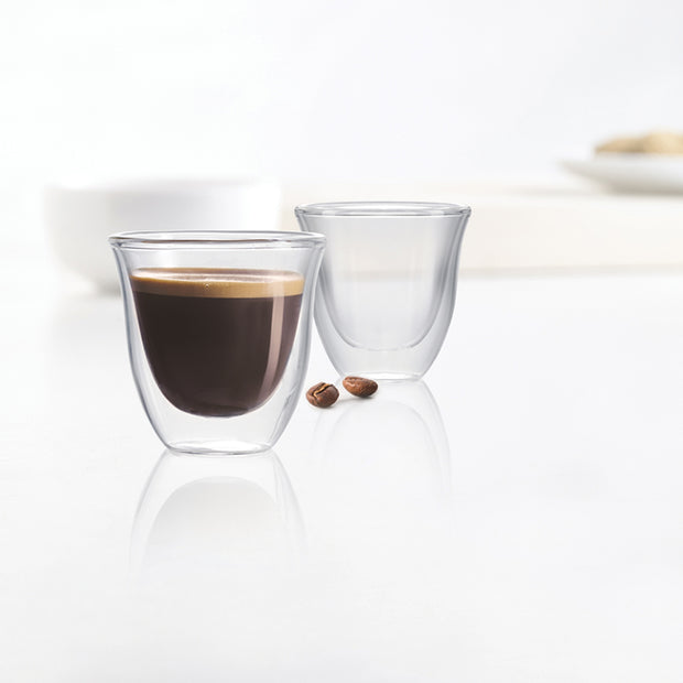 Duetto Double Wall Espresso Glasses - Set of 2