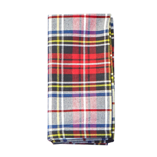 Scottish Plaid Napkins - Set of 4