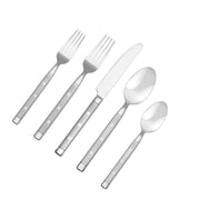 20-Piece Yorktown Frosted Flatware Set