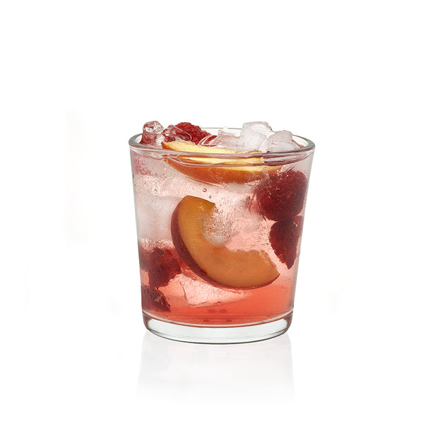 Preston Double Old-Fashioned Drinking Glasses - Set of 4