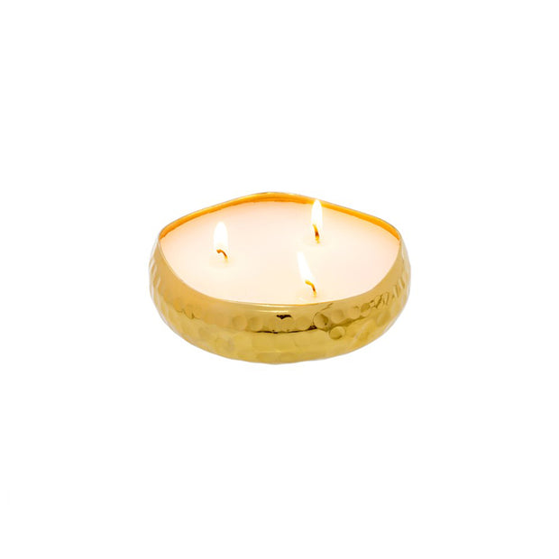 Hammered Multi Flame Candle