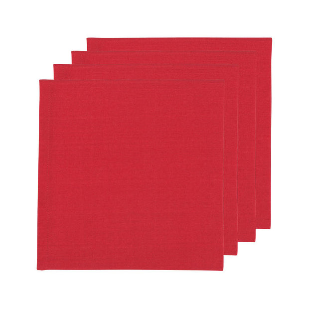 Red Renew Napkins - Set of 4