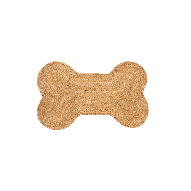 Dog Bone Pet Bowl Mat