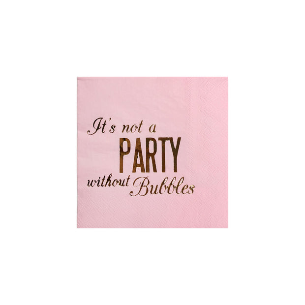 Party Cocktail Napkins - Set of 20