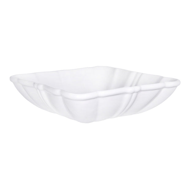 Pure White Square Serving Bowl