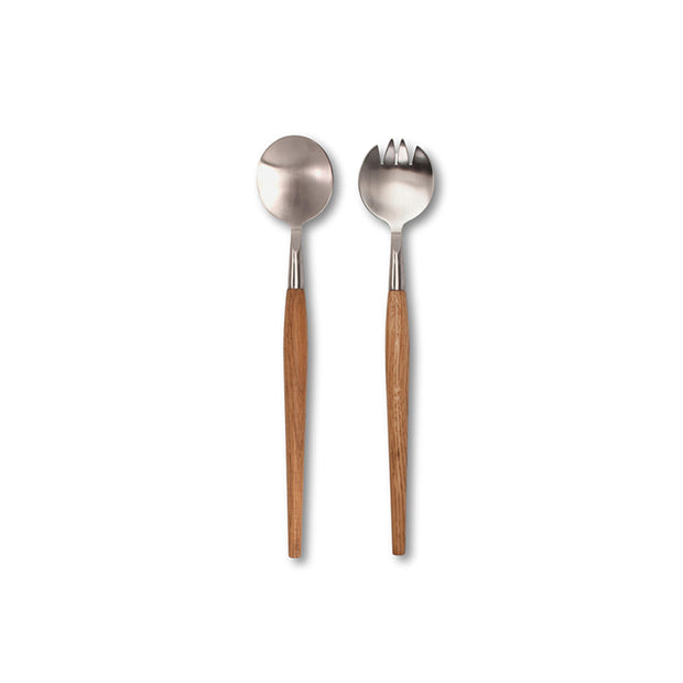 Acacia Salad Servers - Set of 2