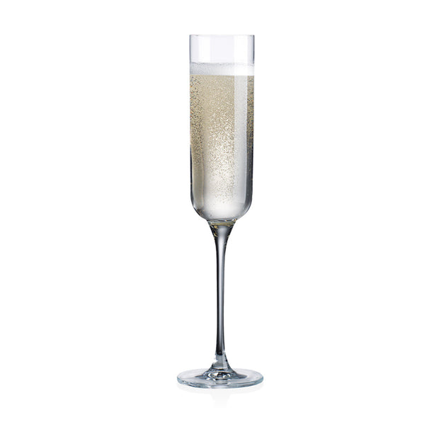 Linea Champagne Flutes - Set of 4