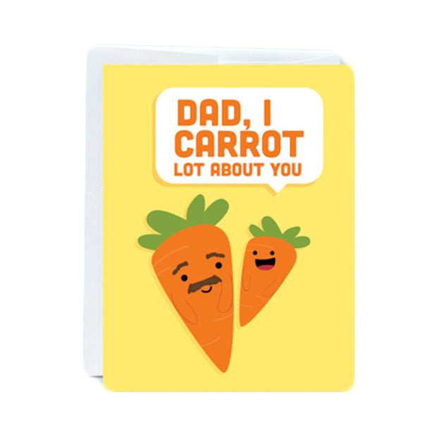 Carrot Dad Greeting Card