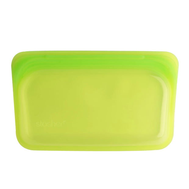 Stasher Lime Snack Bag