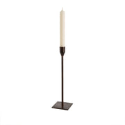 Leather Bonita Large Candlestick