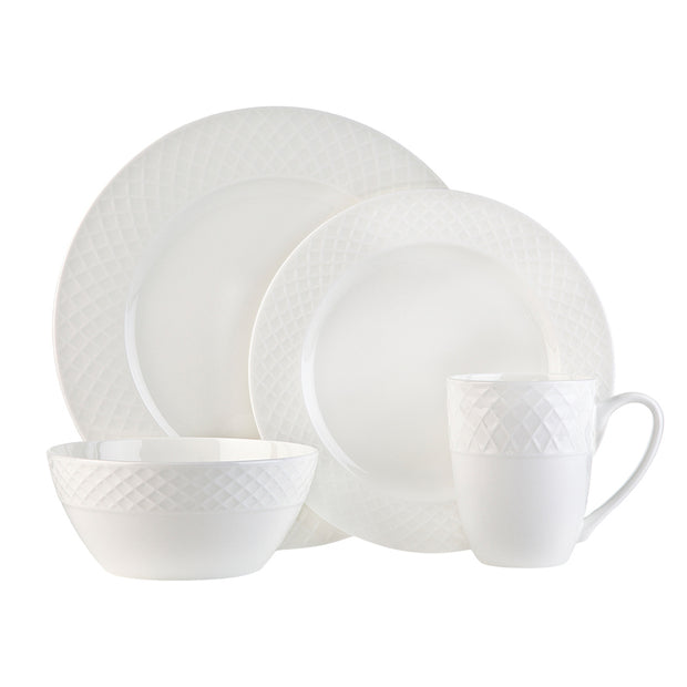 16-Piece Stratford Dinnerware Set